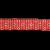 Red Polka Dot Ribbon 2