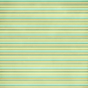 Stripes 51 Paper- Blue Green & Orange