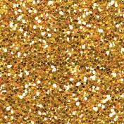 Sweet Things Orange Glitter