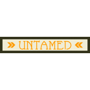 Untamed- Sticker Cambodia