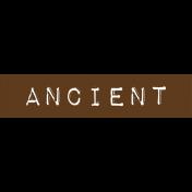 Cambodia Ancient Label