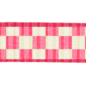 Pink Gingham Ribbon- Cambodia