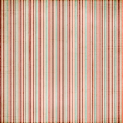 Stripes 50 Paper- Teal & Red
