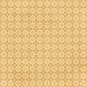 Cambodia Yellow Ornamental Paper