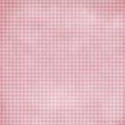 Cambodia Pink Houndstooth Paper