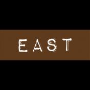 Cambodia East Label