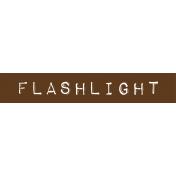 Cambodia Flashlight Label
