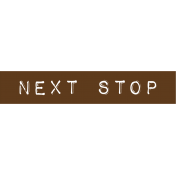 Cambodia Next Stop Label