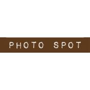 Cambodia Photo Spot Label
