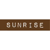 Cambodia Sunrise Label