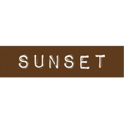 Cambodia Sunset Label