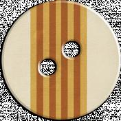 Cambodia Button- Brown & Tan & Cream Striped