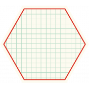 Cambodia Grid Tag- Hexagon