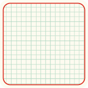 Cambodia Grid Tag- Square Rounded Corners