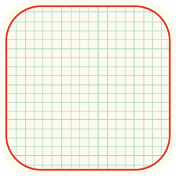 Cambodia Grid Tag- Square Rounded Corners Deeper