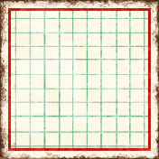 Cambodia Grid Tag- Square Small Grunge