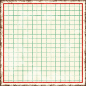 Cambodia Grid Tag- Square Large Grunge