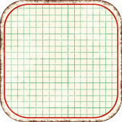 Cambodia Grid Tag- Square Rounded Corners Deeper Grunge