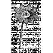 Flower Stamp 04