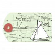 Sailboat Tag