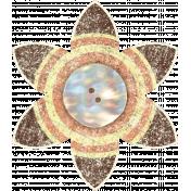 Discover Flower- Petal Brown & Button