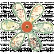 Discover Flower- Soft Petal Text