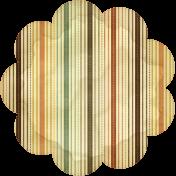 Discover Flower- Scallop Stripe