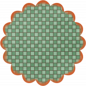 Discover Flower- Checkerboard