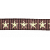 Star Ribbon - Brown