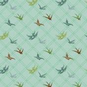 Malaysia Birds Paper- Teal