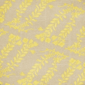 Malaysia Yellow Floral Paper