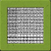 Malaysia Chipboard Frame- Green