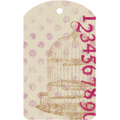 Malaysia Tag- Bird Cage & Numbers