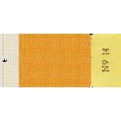 Malaysia Ticket- Yellow & Orange