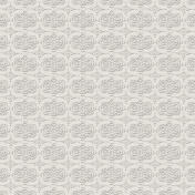 Damask 17- Embossed Gray Paper