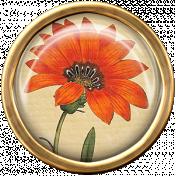 Ephemera Flower Brad 10