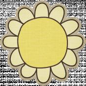 Laundry Flower 002- Yellow