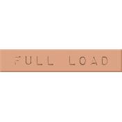 Laundry Label- Full Load