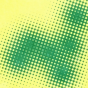 Halftone Paper- Yellow & Green