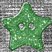 DSF Aug 2012 Button- Star Green