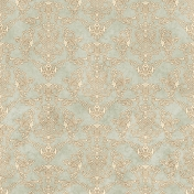 Damask 23 Paper- Tan & Gray