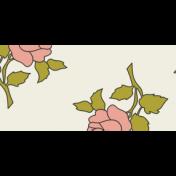 Rose Flower Masking Tape