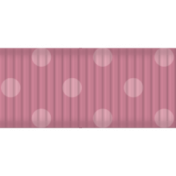 Thin Ribbon- Polka Dots 02- Pink