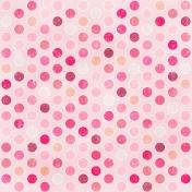 Polka Dots 21 Paper- Pink