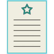 Inspire Journal Card- Star