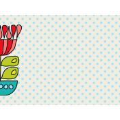 Inspire Journal Card- Floral & Polka Dot