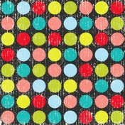 Inspire Distressed Polka Dots Paper