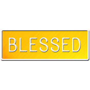 E&G Blessed Sign