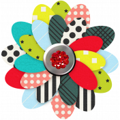 Inspire Paper Flower- Multi Colored
