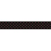 Inspire Ribbon- Pink Polka Dot